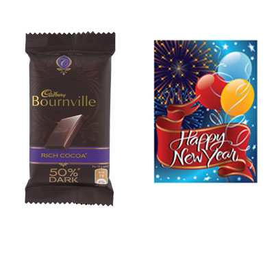 Bournville Chocolates with Card