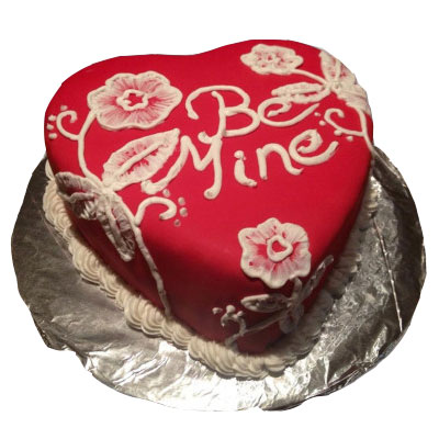 Be Mine Valentine Cake