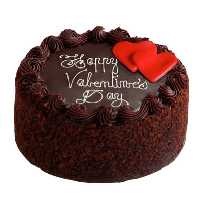 Valentine Day Chocolate Cake