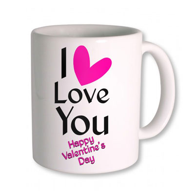 I Love You Valentine Day Mug
