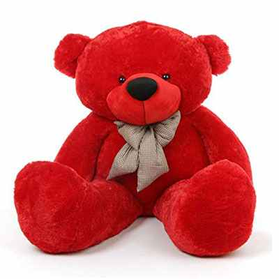 Red Big Teddy Bear