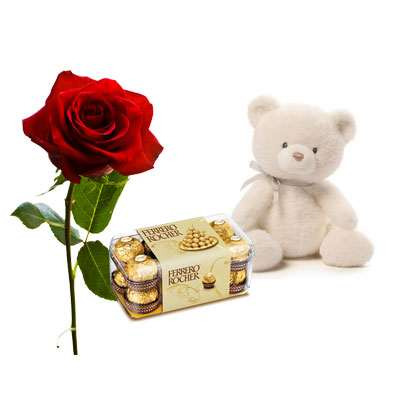 Rose with Ferrero & Teddy