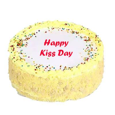 Kiss Day Butter Scotch Cake