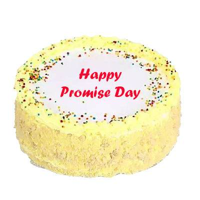 Promise Day Butter Scotch Cake