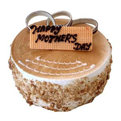 Mothers Day Butterscotch Cake