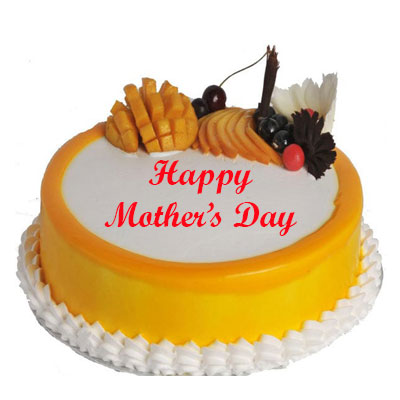 Mothers Day Mango Cake