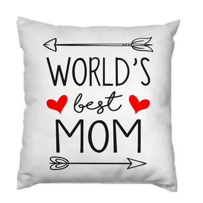 Words Best Mom Cushion