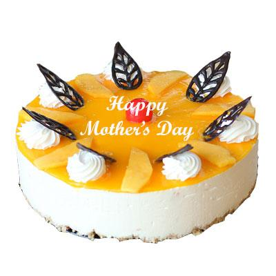 Happy Mothers Day Mango Cheese Cake