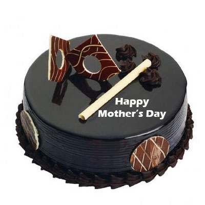 Mothers Day Chocolate Royal Cake