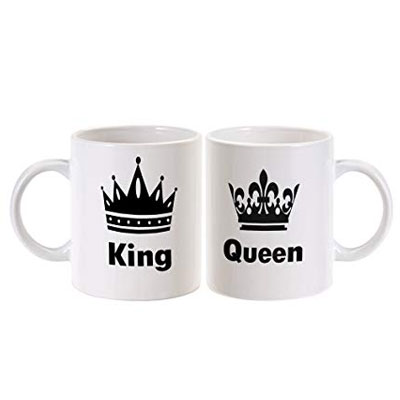 King Queen Mugs