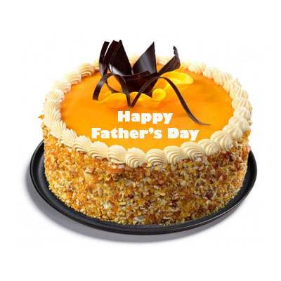 Fathers Day Butter Scotch Cake