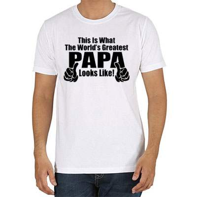 T-shirt for Dad