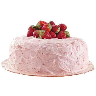 Classic Strawberry Cake