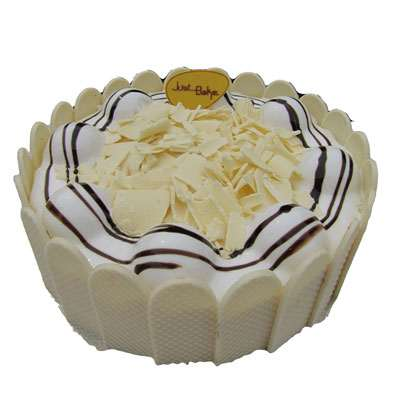 Delicous White Forest Cake