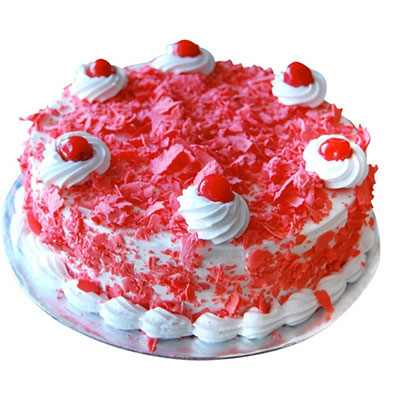 Red Velvet Forest Cake