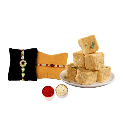 Rakhi Set with Son Papri