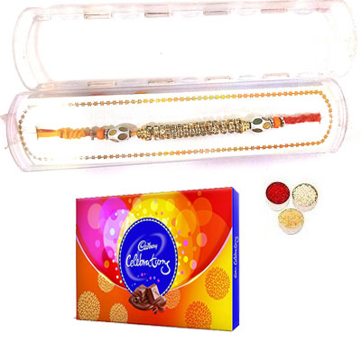 Precious Rakhi With Celebration