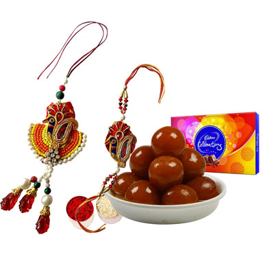 Lumba Rakhi with Gulab Jamun & Celebration