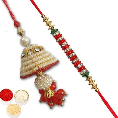 Fancy Lumba Rakhi Set