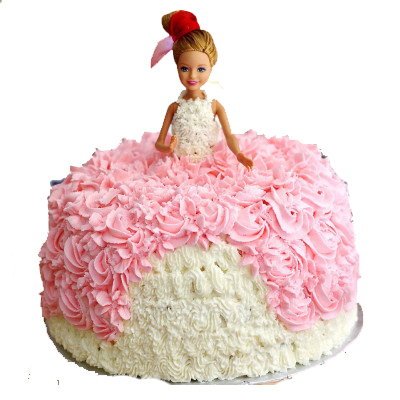 Beautiful Princess Doll Cake