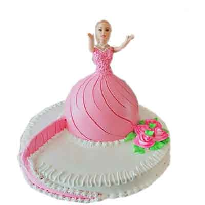 Super Deluxe Barbie Doll Cake