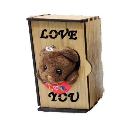 Love you Teddy in Almirah