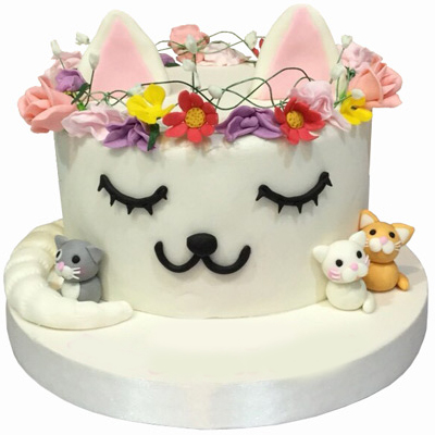 Cartoon Cat Cake