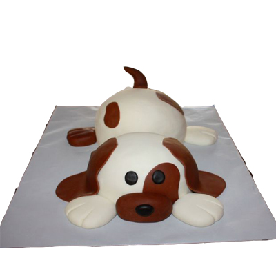 Marvelous Dog Cake