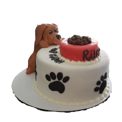 Puppy Birthday Cake
