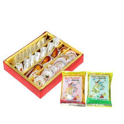 Mixed Sweets & Gulal
