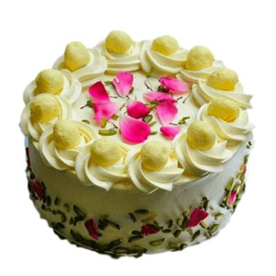 Rasmalai Vanilla Cake