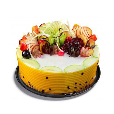 Creamy Fruit Cake