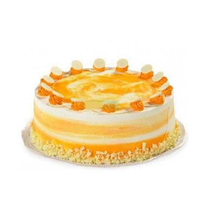 Delicious Designer Mango Cake
