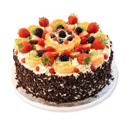 Fresh Fruit Regular Cake