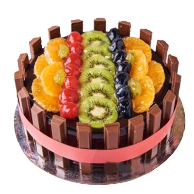 Kitkat Fruit Cake