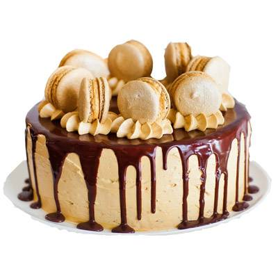 Coffee Caramel Cake
