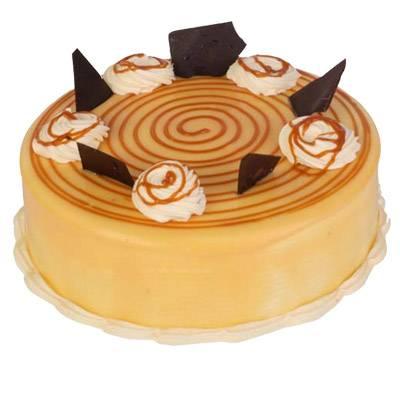 Premium Caramel Cake