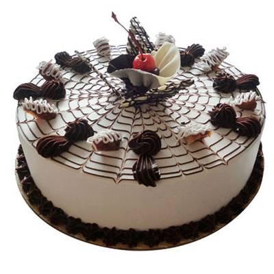 Premium Chocolate Vanilla Cake