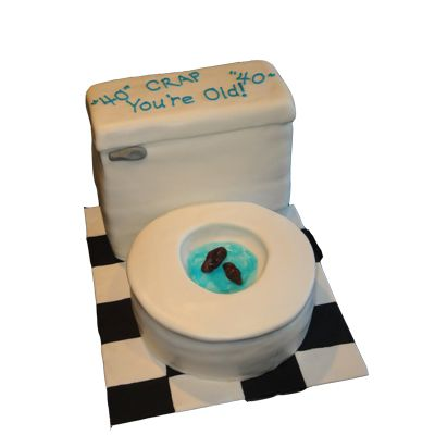 3D Toilet Cake