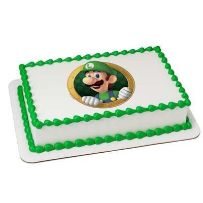 Mario Pineapple Cake