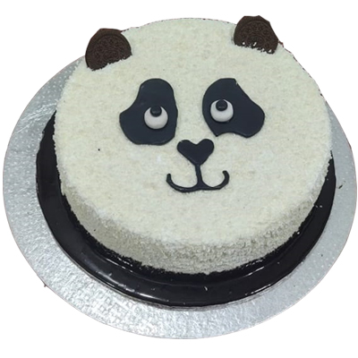 Eggless Super Delicious Panda Cake