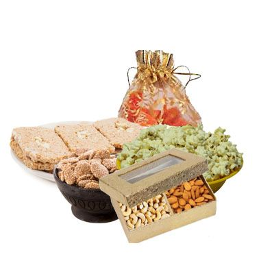 Lohri Special Gift Hamper with Dry Fruits