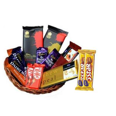 Indian Chocolate Basket with 5Star