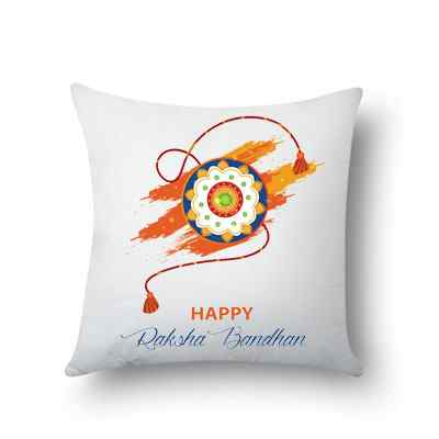 Happy Rakhi Cushion