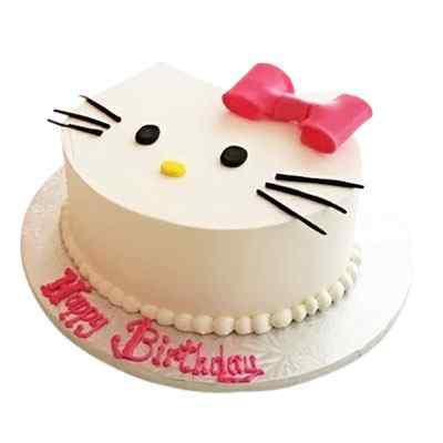 Flavoursome Hello kitty Cake