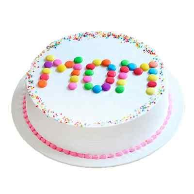 Gemstone Cake For Mom