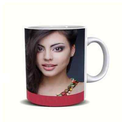 Girlfriend Photo Print Mug