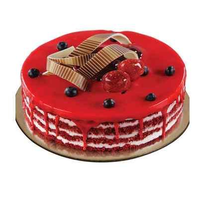 Divine Red Velvet Design Cake