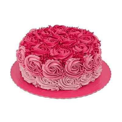 Vanilla Designer Floral Cake