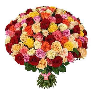 75 Mix Roses Bouquet